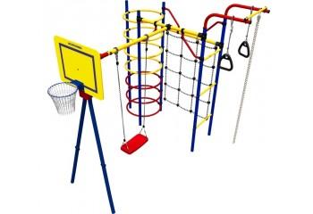 """Детский игровой комплекс """"Космодром"""" с качелями и лестницей"""