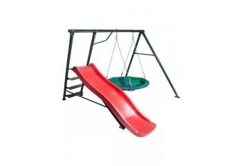 Качели детские с горкой Радуга Olsa - спортивные комплексы