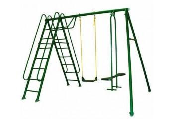 """Детские качели """"Солнышко-3"""" с лестницей - спортивные комплексы"""