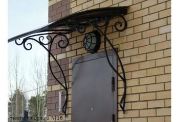 """Козырек над дверью """"Лик 9"""" - металлоконструкции"""
