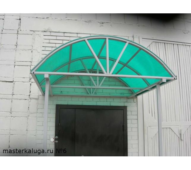 """Козырек над дверью """"Лик-3"""" -  металлоконструкции - фото3"""