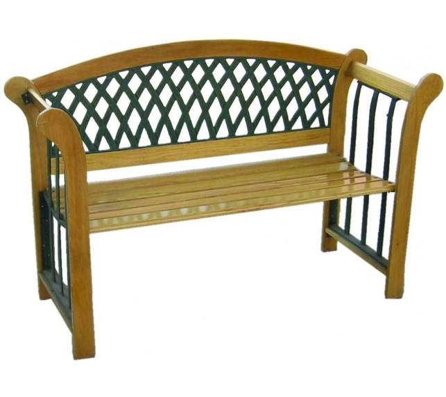 Лавочка садовая G001L - скамейки садовые