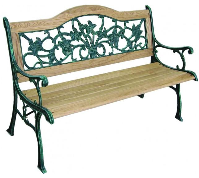 Лавочка садовая G397 - скамейки садовые