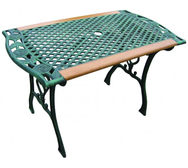 Стол садовый G495 из чугунного литья