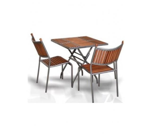 """Набор мебели для сада """"Бетта-Мини"""" со стульями и столом"""