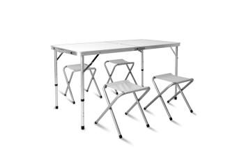 Набор мебели для кемпинга KUTBERT стол-чемодан и четыре стула