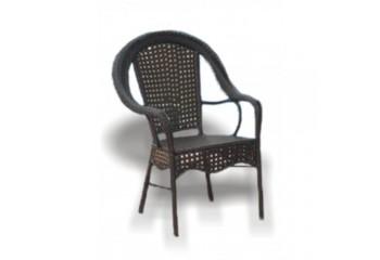 """Кресло плетенное из ротанга к набору """"Аликанте"""" - садовая мебель"""