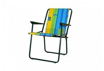 """Кресло складное """"Фольварк"""" (жесткое) - садовая мебель"""