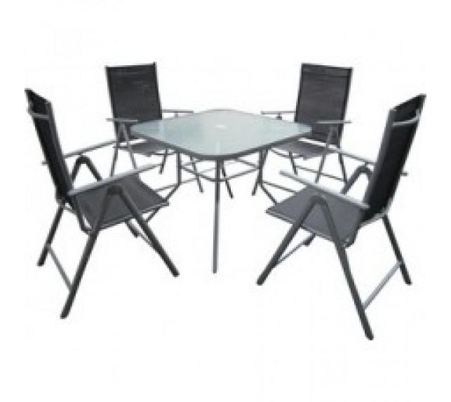 """Набор мебели для сада """"Капри"""" со стульями и столом"""