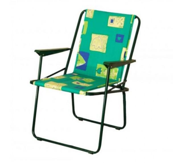 """Кресло складное """"Фольварк"""" (мягкое) - садовая мебель"""
