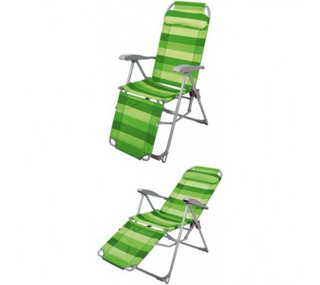"""Кресло шезлонг """"Ника"""" зеленого цвета - садовая мебель - фото2"""