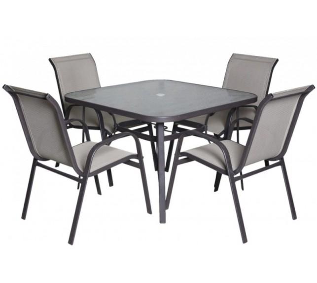 "Набор мебели ""Сан-Ремо-2"" из ротанга со столом"