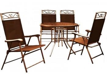 """Набор мебели """"Милан"""" для сада со столом и стульями"""