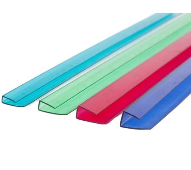 UP-торцевой профиль для поликарбоната 16 мм