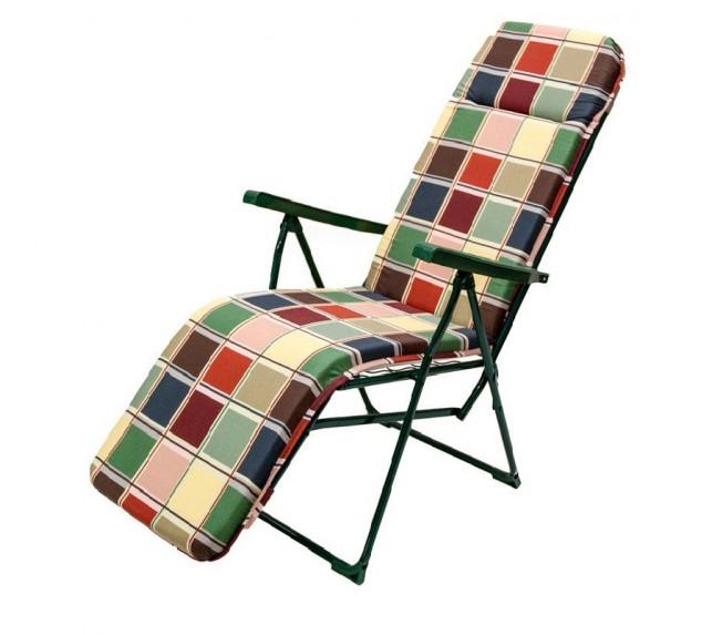 """Кресло-шезлонг """"Альберто - 3"""" с мягким матрасом - садовая мебель - фото4"""