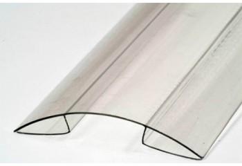 Коньковый профиль для поликарбоната толщиной 4-10 мм