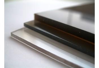 Монолитный поликарбонат прозрачный 4 мм марки Кинпласт