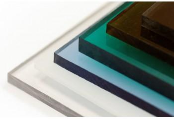 Монолитный поликарбонат цвет бронза 5 мм Woggel