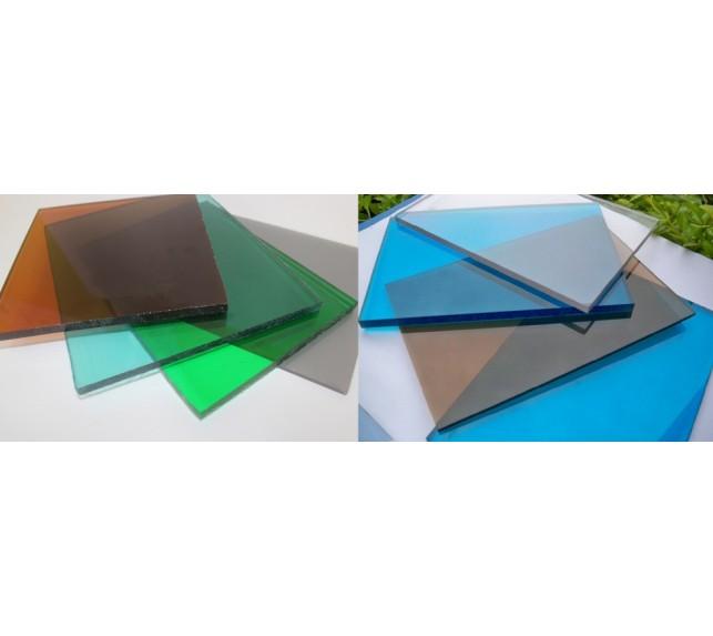 Монолитный поликарбонат 4 мм цветной Woggel - монолитный поликарбонат - фото1