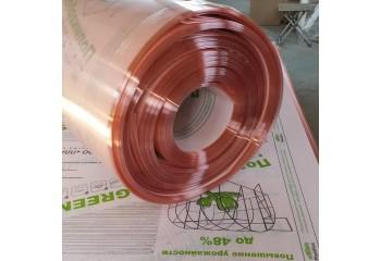 Сотовый поликарбонат GREENHOUSE-nano 4 мм с био добавкой розового цвета