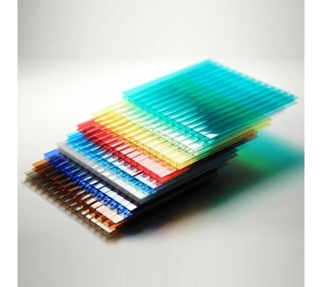 Сотовый поликарбонат цветной SCYGLASS толщина 10 мм