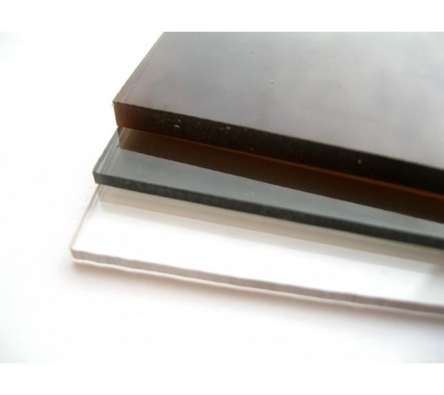 Монолитный поликарбонат прозрачного 8 мм Кинпласт