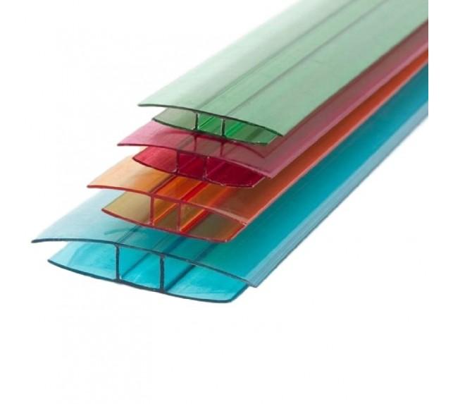 Соединительный профиль для поликарбоната толщиной 8-10 мм