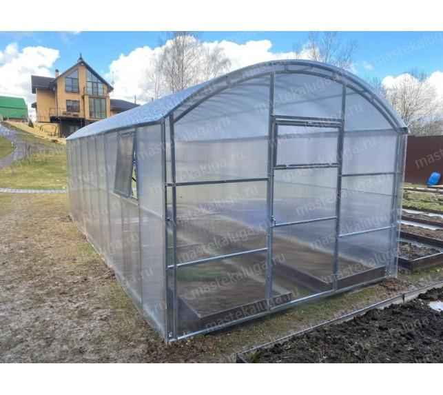 Теплица с прямыми стенками с двойной фермой - фто11