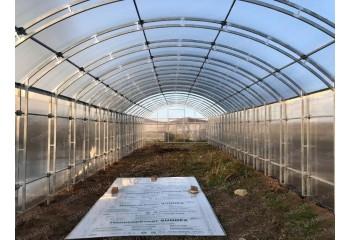 Теплица Фермерская ширина 4 м прямостенная - фото1