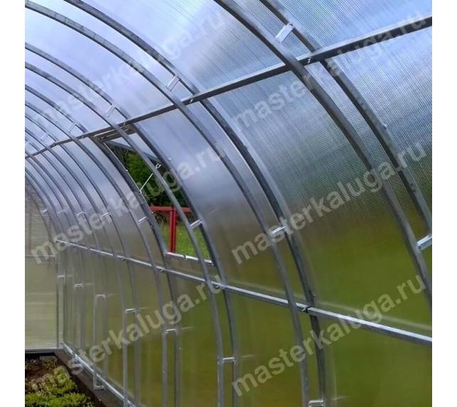 Теплица оцинкованная 2Д двойная ферма - фото4