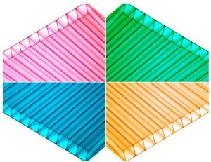 Цветной поликарбонат по Акции